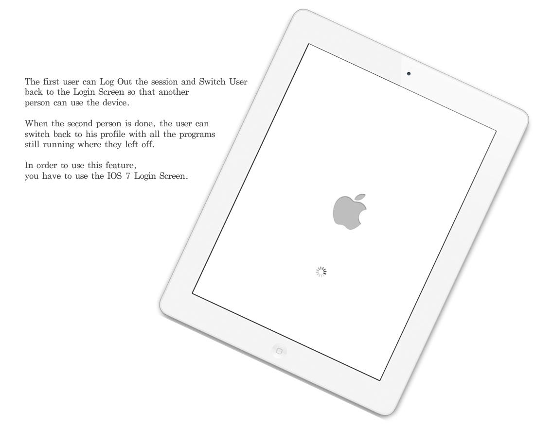 iPad iOS 7