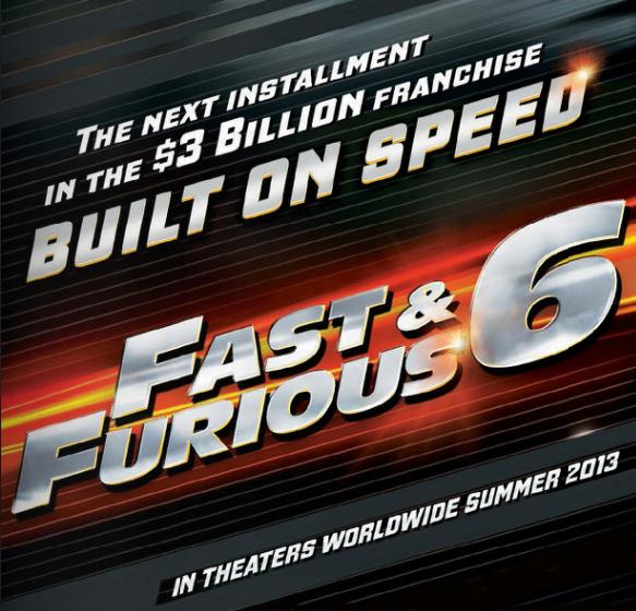 Fast & Furious 6 Geliyor!