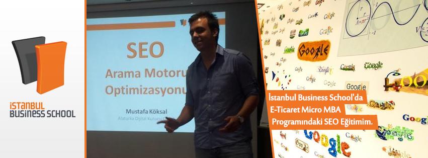 İstanbul Business School'daki SEO Eğitimim