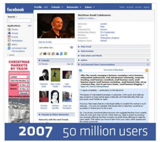 Geçmişten Günümüze Facebook