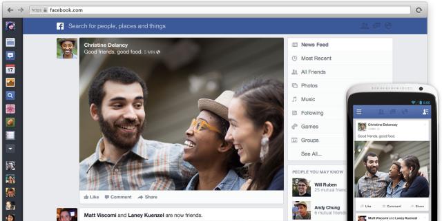 Facebook Haber Kaynağı Tasarımını Değiştirdi
