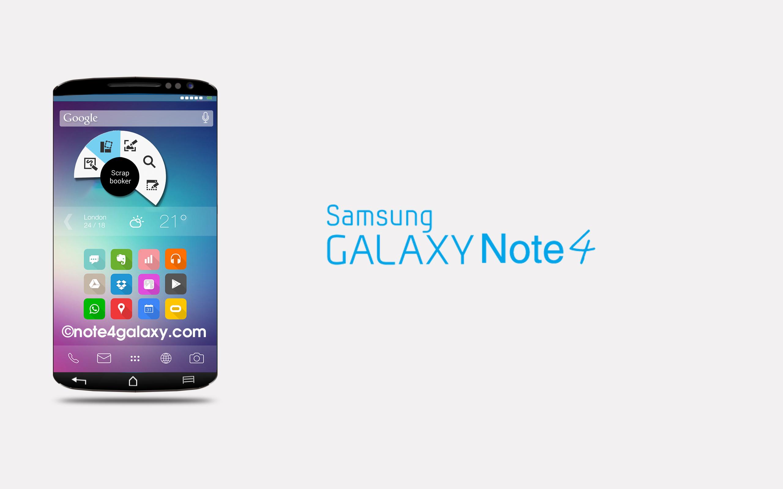 Galaxy Note 4 Özellikleri ve Çıkış Tarihi