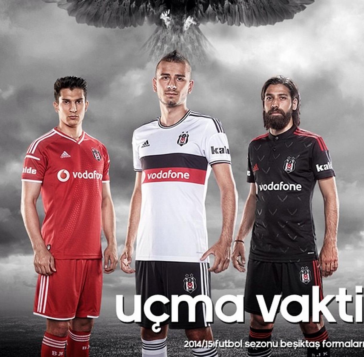 Beşiktaş 2014 / 2015 Formaları ve Tanıtımı