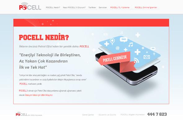 PoCell internet ayarları nasıl yapılır?