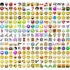 Facebook smiley gülücük işaretleri