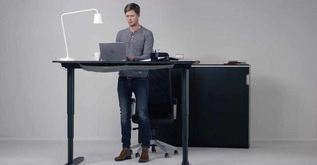 IKEA Ayarlanabilir Masa: Bekant Ergonomi