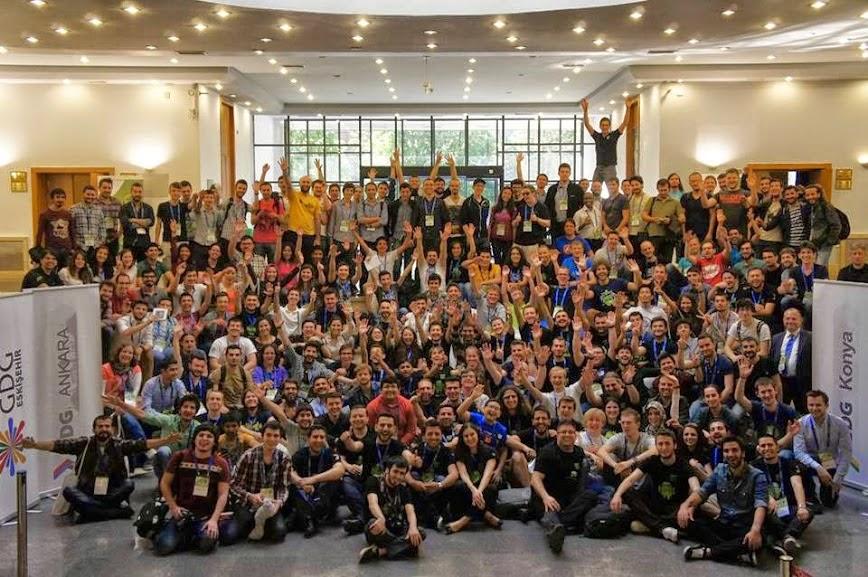 2015 Android Geliştirici Günleri ve Grupları