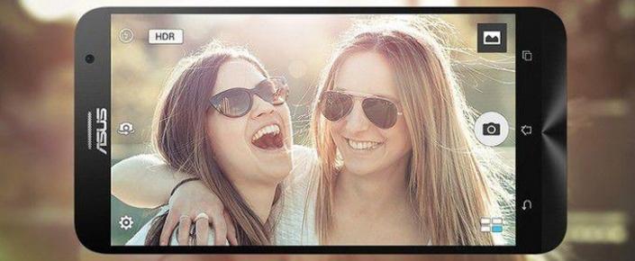 Asus'un, Selfie Özellikli Akıllı Telefonu: ZenFone