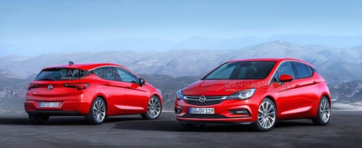 Yeni 2016 Opel Astra